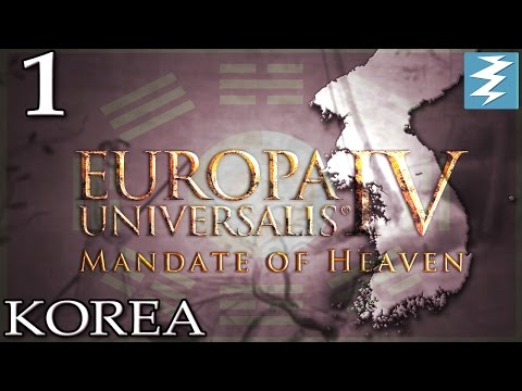 MANDATE OF HEAVEN [1] - Korea - Mandate of Heaven EU4 Paradox Interactive
