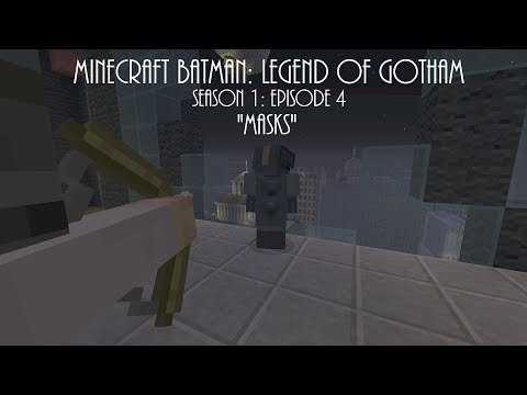 "Minecraft Batman: Legend of Gotham - Season 1 Episode 4 ""Masks"""