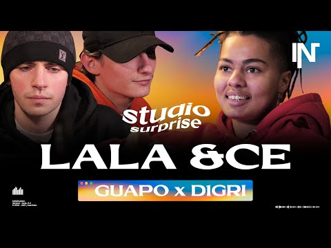 Youtube: Lala &ce feat. Guapo du Soleil et D1gri | Studio Surprise