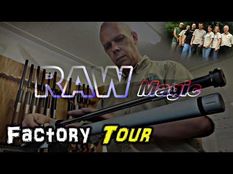 Airgun FACTORY TOUR - Rapid Air Weapons (RAW)