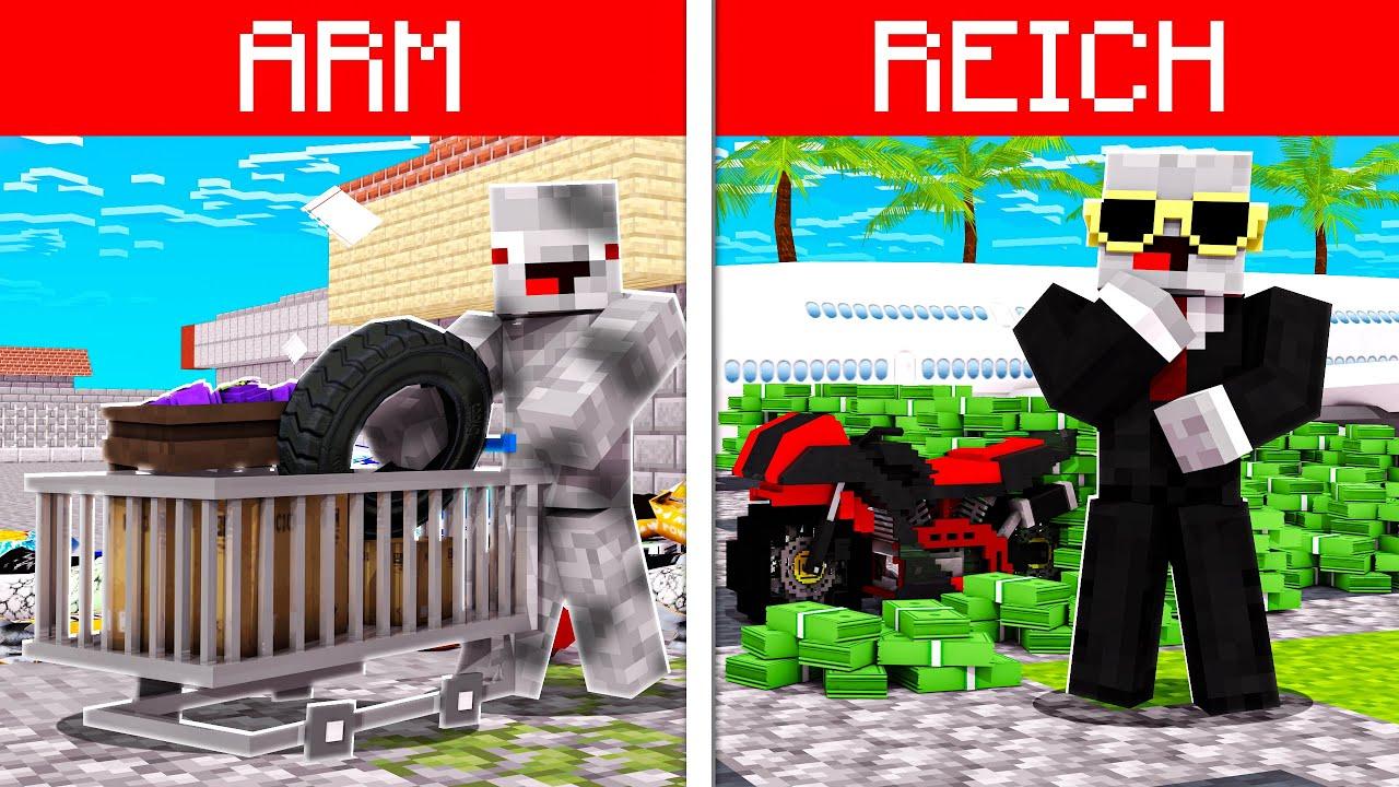 Download ARMES VS REICHES LEBEN in Minecraft