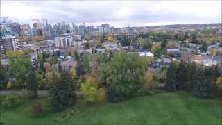 Drone Tour: The Fall Colors of Calgary