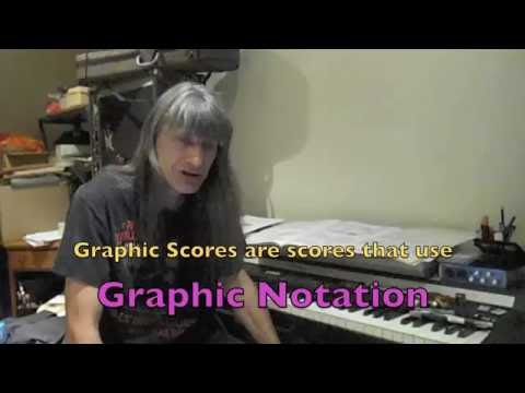 Graphic Notation and Graphic Scores (of mine): Part One - Music Stuff With Spock #3