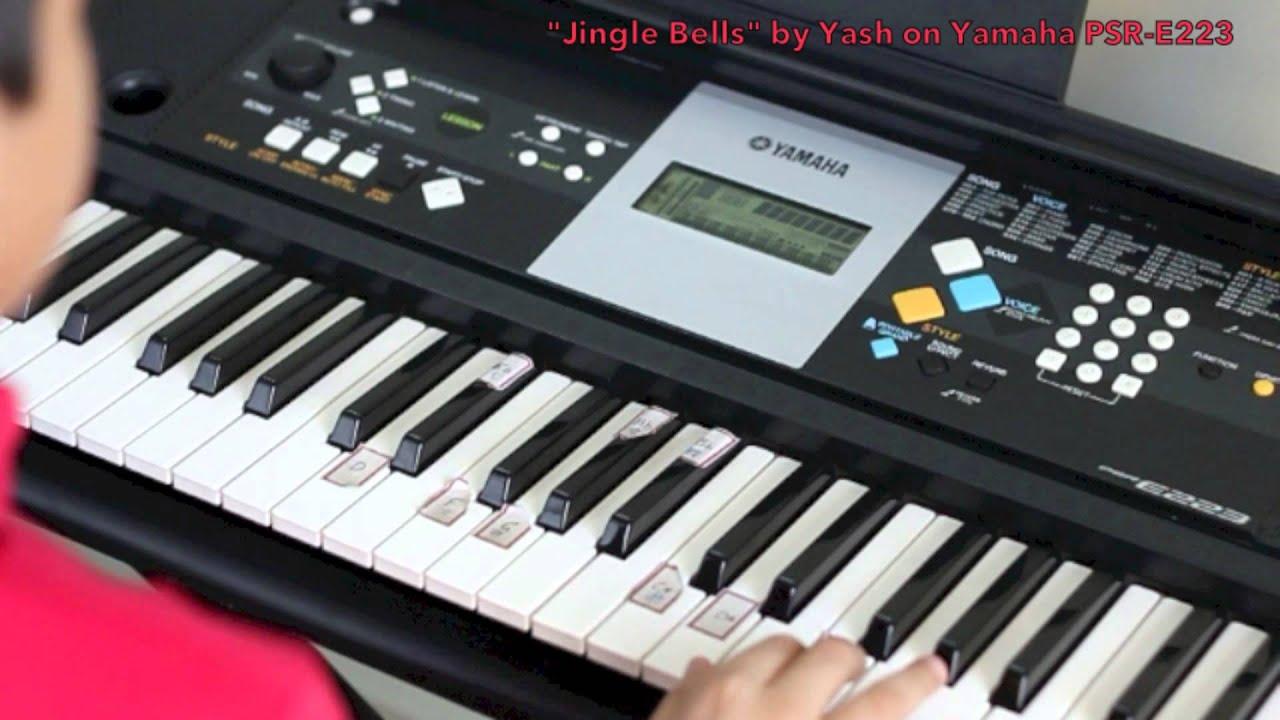 Yamaha Keyboard Psr E223 : jingle bells on yamaha psr e223 youtube ~ Vivirlamusica.com Haus und Dekorationen