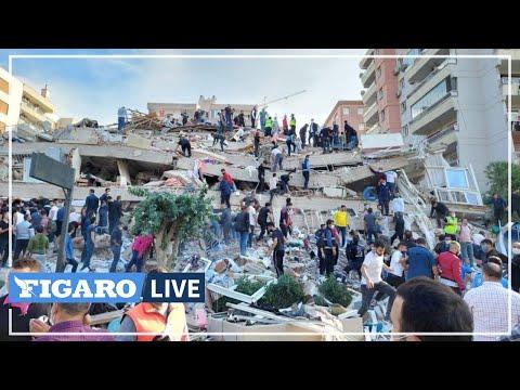 🔴 Un SÉISME de magnitude 7 frappe la ville d'Izmir en Turquie