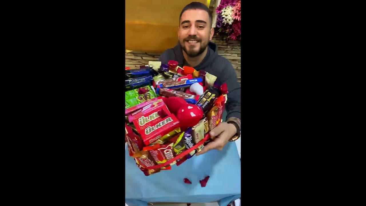 Çikolatadan hediye