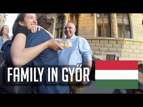 Kim Meets Her Hungarian Family in Győr