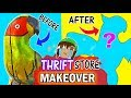 SCULPTURE MAKEOVER #1 Thrift Store makeovers