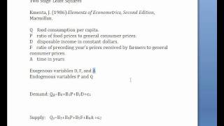 econometrics tsls in r part 1
