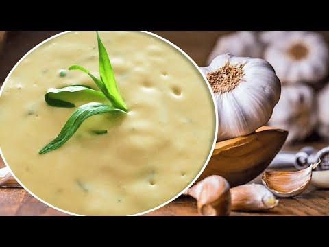 Creamy Garlic Dipping Sauce Recipe With Sour Cream