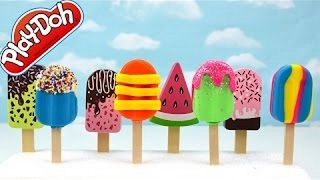 DIY Best Learn How To Make Play Doh Ice Cream Popsicles Colors for Kids Toddler Babies Toys Childre