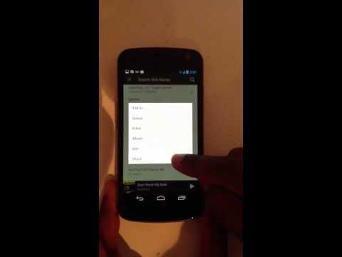 Nexus Q stream app