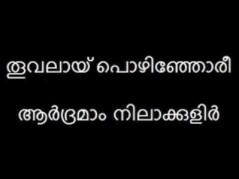 Mazhaneer Thullikal Lyrics Version