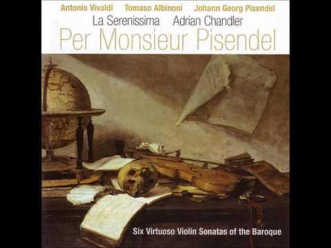 Adrian Chandler & La Serenissima   Suonata à solo facto per Monsieur