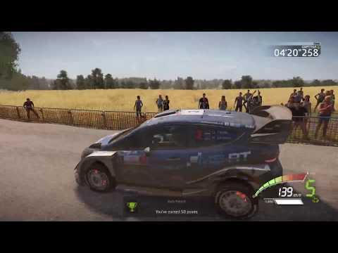 WRC 7 Challange Poland - Track Chmielewo 8.28 Km - Ott Tänak - Round 2
