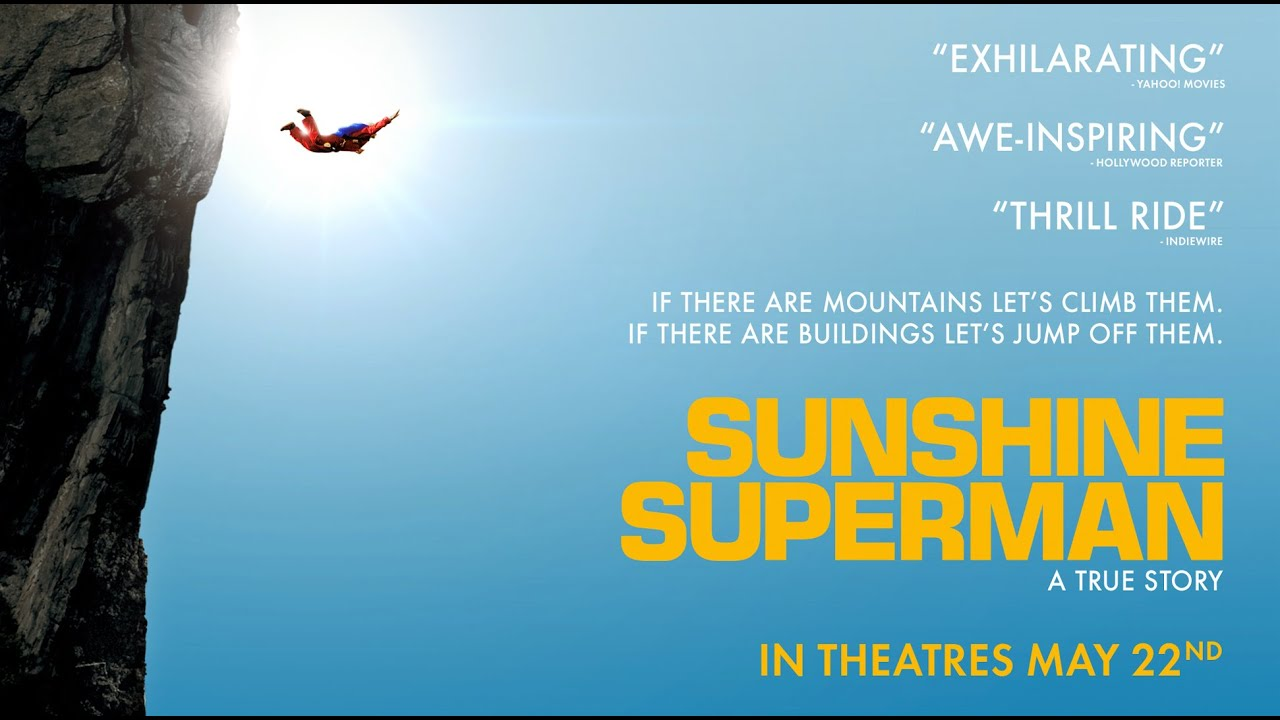 sunshine superman official trailer youtube