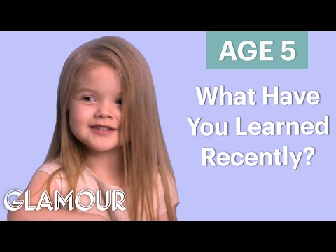 70 People Ages 5-75 Answer: What Have You Learned Recently? | Glamour