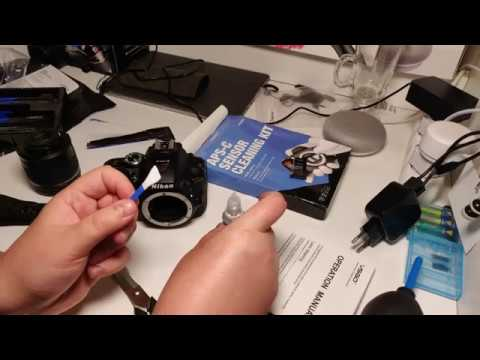 Unboxing - DSLR Sensor Cleaning Kit - My first time to clean my DSLR's sensor