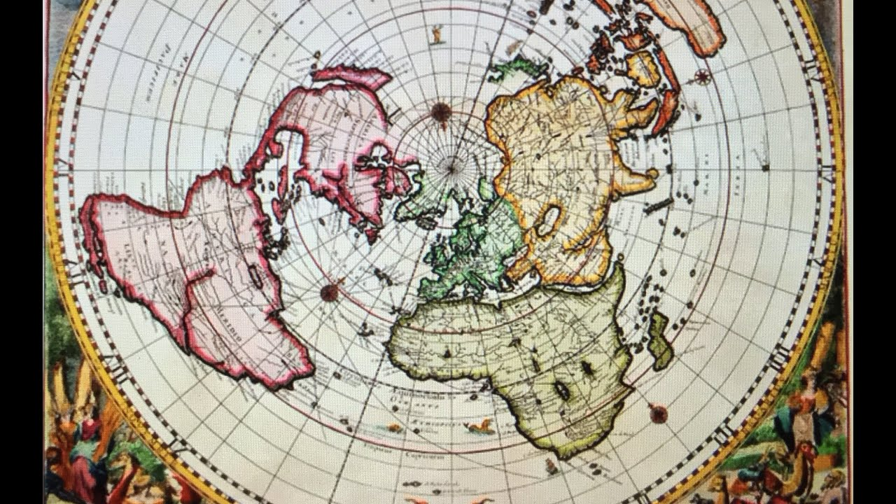 Pt 2 Some 500 Yr Old Maps Curvature Flat Earth