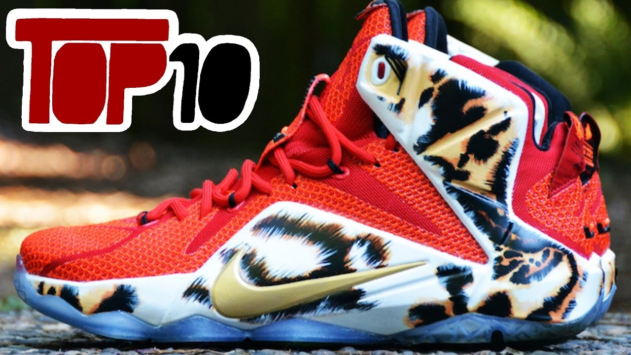 promo code 913e4 f2290 Top 10 Custom Nike Lebron Basketball Shoes