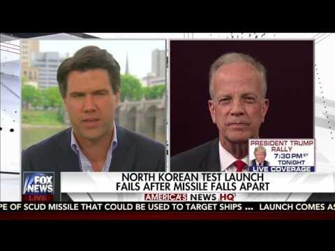 Sen. Jerry Moran Discuss North Korea and Veterans