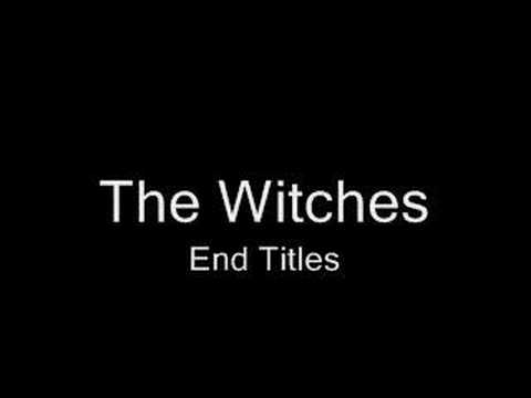The Witches - Main Titles SCORE RARE