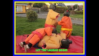 Wrestling Sumo Suits Hire / Rent in Galway 087 9314139