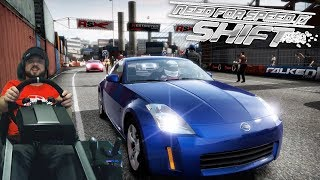 """Гонки в моноклассе - Nissan 350Z - """"трамвай edition"""" Need for Speed: Shift"""