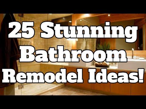 25 STUNNING Bathroom Remodel Ideas!