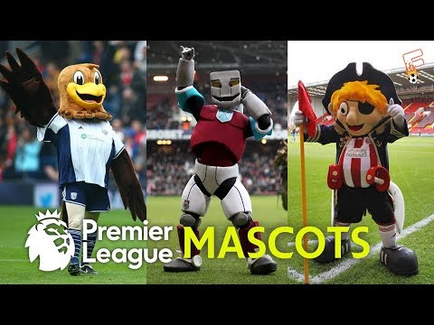 Best Famous England Football Club Mascots ⚽ Premier League Mascots ⚽ Footchampion