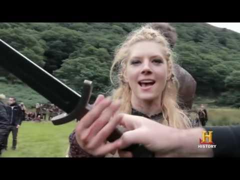 Сериал - Викинги - Забавные отрывки со съемок 2