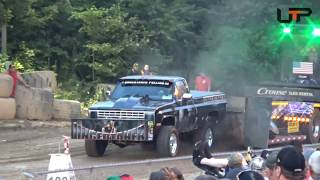 USA EAST PULLING SERIES | Sykesville Fair | SUPER STREET GAS 4X4 TRUCKS