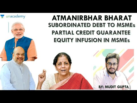 Atmanirbhar Bharat - Subordinated Debt - Credit Guarantee Tr