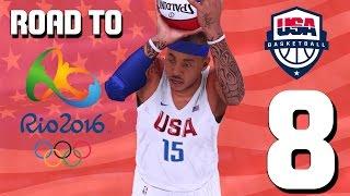 Team USA Basketball - Are we Ready? - Road To Rio Ep. 8 - NBA 2K16 MyTeam