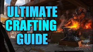 Albion Online Ultimate Craḟting Guide | Understanding How To Craft Effectively