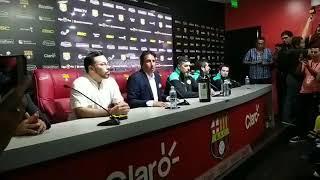 Presentación de Leonardo Ramos nuevo DT de Barcelona SC