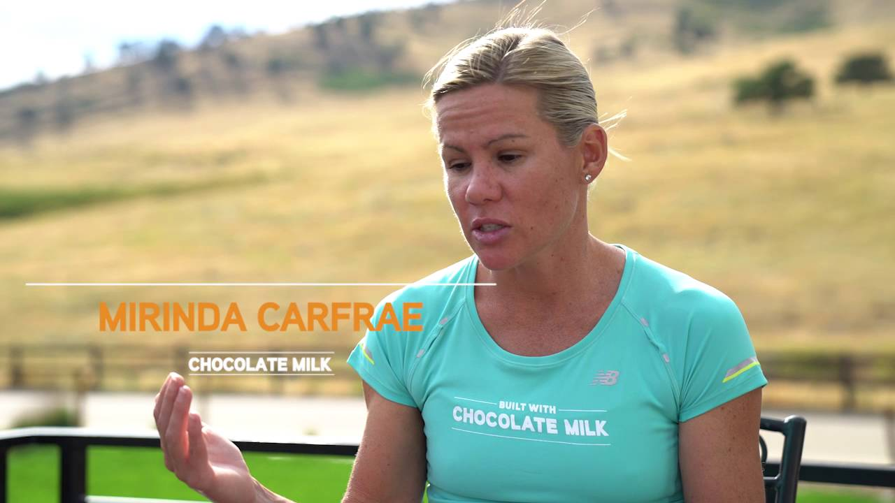 "6b224a2213e How does 3X Triathlon World Champion Mirinda ""Rinny"" Carfrae Recover  With  Chocolate Milk"