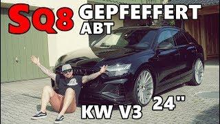 Erster Audi SQ8 by Gepfeffert mit 24