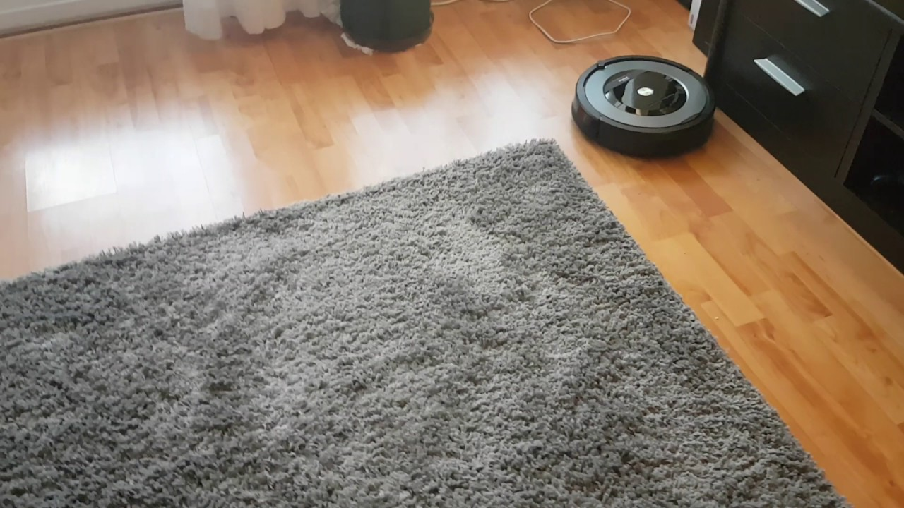 Irobot Roomba 866 Having Problems With Carpets Youtube