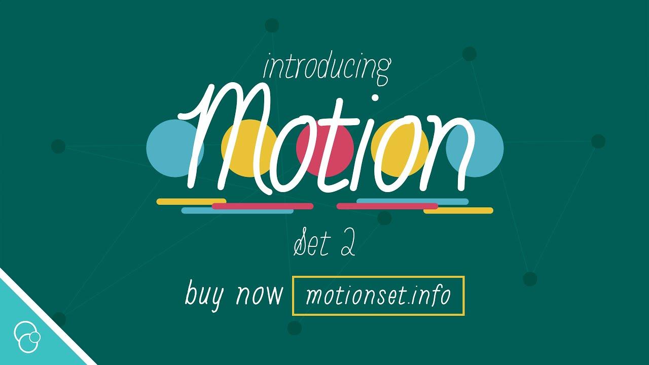 Introducing Motion Set 2 4K
