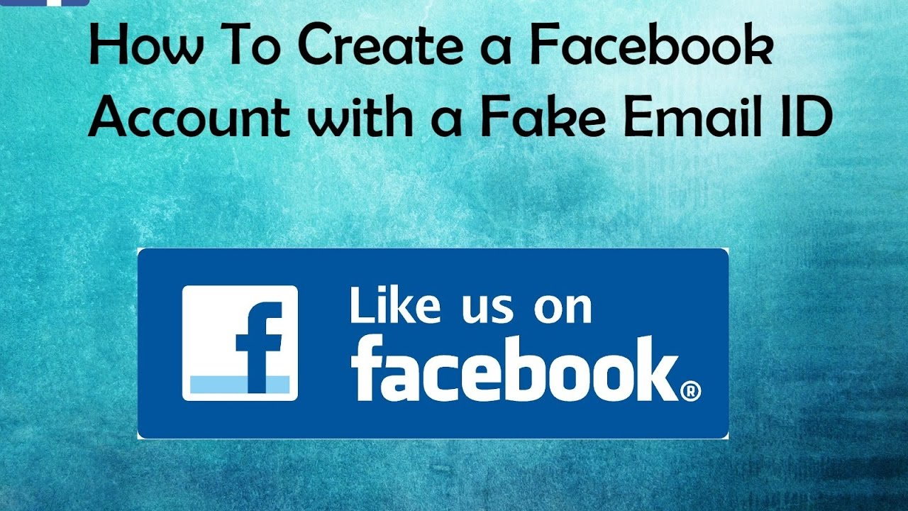 how to create facebook id without email
