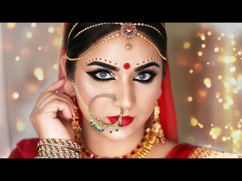Glamorous Bengali Bridal Makeup | Indian Bridal Makeup Tutorial |  SmithaDBeauty