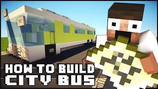 Minecraft Vehicle Tutorial - Bus