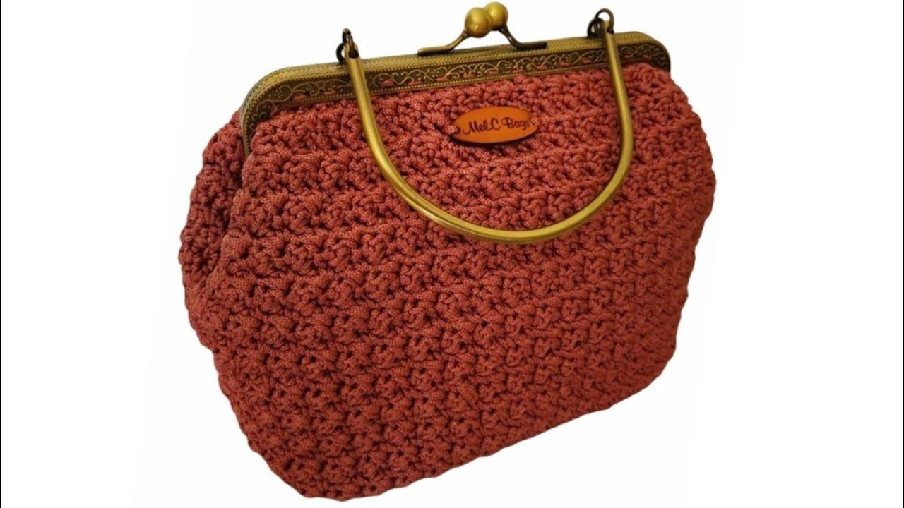 Tutorial Pochette Clic Clac Roses Mel C Bag Punto Basso Punto