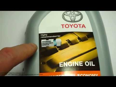 What is excellent engine oil for Toyota hybrid cars. Like Toyota Prius.