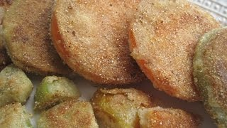 Classic Fried Green Tomatoes - How To Make Fried Green Tomaotes Recipe