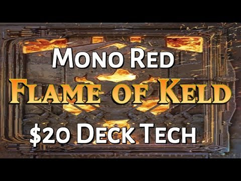 Mtg Budget Deck Tech: $20 Flame of Keld in Dominaria Standard!