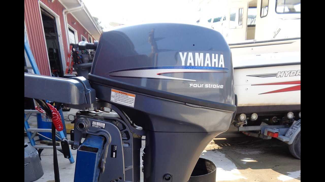 6m5793 Used 2010 Yamaha T9 9gexh 9 9hp 4 Stroke High