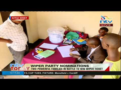 Voting underway in Kitui West as two powerful families in battle to win Wiper ticket