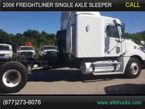 2006 Freightliner Single Axle Sleeper For Sale In Tampa ...